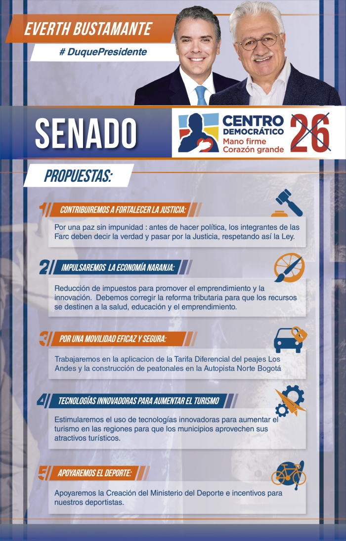 Propuestas Senado Everth Bustamante